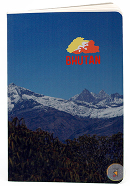 Chelela Pass (Bhutan) Design Notebook - (SN201903102)
