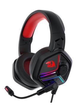 Redragon H230 Ajax RGB Wired Gaming Headset, Dynamic RGB Backlight