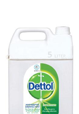 Dettol Antiseptic Disinfectant Liquid 5L