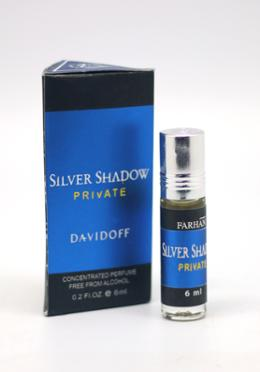 Farhan Silver Shadow Private Concentrated Perfume -6ml (Men)