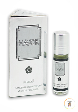 Havok Concentrated Perfume -6ml (Unisex)