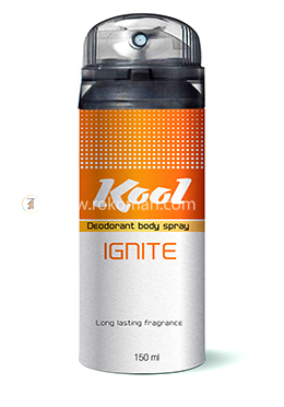 Kool Deodorant Body Spray (Ignite)-150 ml