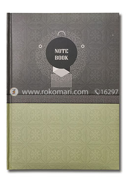 Hearts Daily Notebook - (Grey and Cream Color)