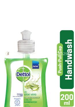 Dettol Handwash Aloe Vera Bottle 200ml