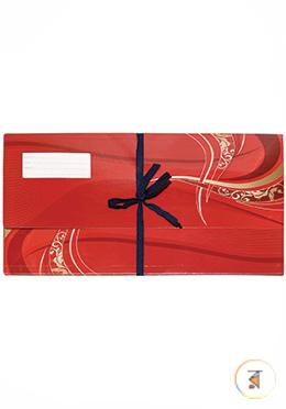 Premium Floral Court File - Red Color
