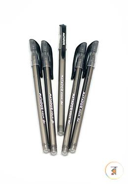 Matador Aqua Gel Pen - Black Ink - 05 Pcs