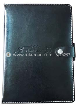 Heart's Oriental Notebook - Black Color