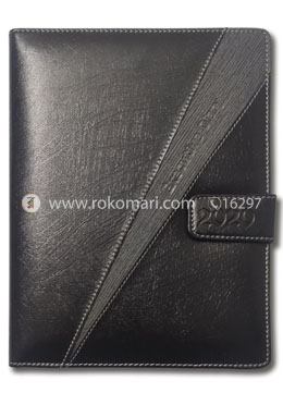 Heart's Executive Diary-2020(Black and Grey Color - Joint Design)