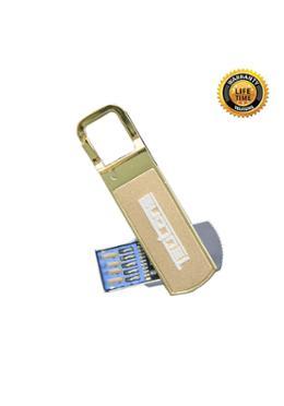 Teutons Amber Gold Flash Drive USB 3.1 Gen 1 – 64GB