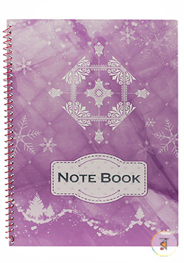 Seminar Note Book Light Purple Color (JCSM06) - 01 Pcs