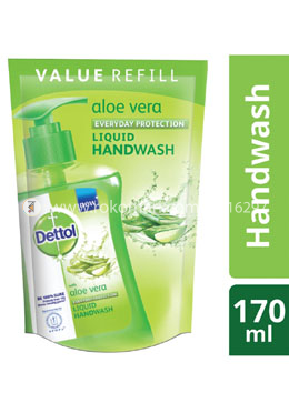 Dettol Handwash Aloe Vera Refill 170ml