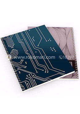 Notebook Circuit Design - Royal Paper  (200 page)(RV-75)
