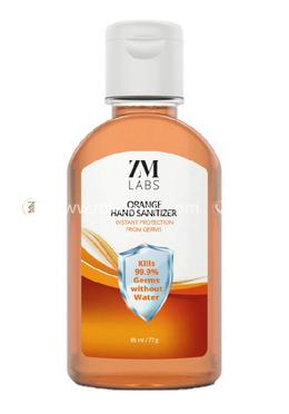 ZM LABS Orange Hand Sanitizer Gel - 85 ml