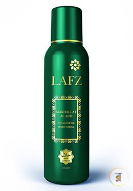 Lafz Body Spray - Makhallat Al Aud (Halal Certified -Alcohol Free)