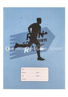 Run Race Design Heart's SMART Binding Khata (Margin) - 300 Pages