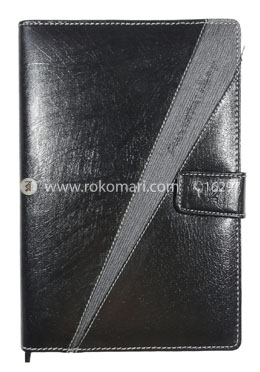 Heart's Executive DIARY - 2021 (Black and Grey Color - Joint Design)