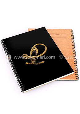 Khata Stethoscope 1 - Spiral Notebook [200 Pages] [Black