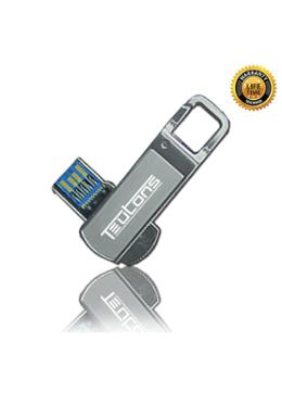 Teutons Medal Silver Flash Drive - 32GB