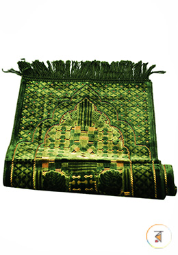 Small Size Muslim Prayer Janamaz Turkey (Olive Color) For 5-6 Years Childern - Any Design