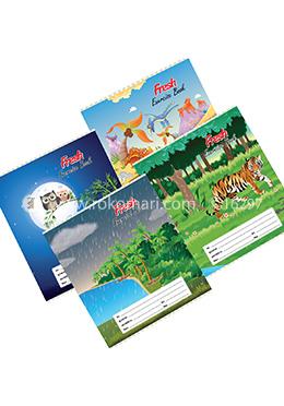 Fresh Kids Bangla Khata -124 Page (Standard) - 4 Pcs