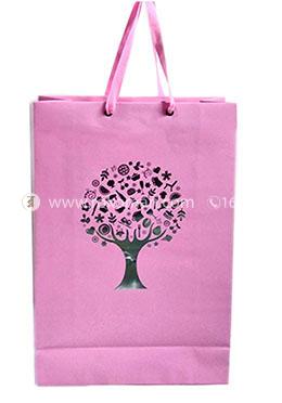 Hearts Smart Gift Bag Big - 01 Pcs (Magenta Color-Any Design)