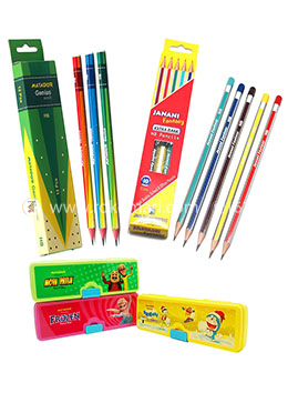 Pencil and pencil box combo (Collection)