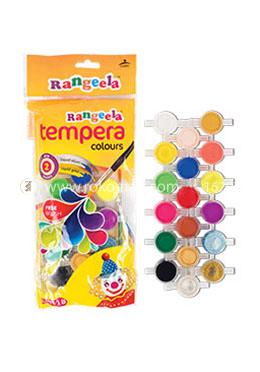 Rangeela Tempera Colour (3ml x 12 shades)