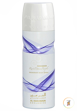 Al Haramain Rain Dance Purple (Deodorant Body Spray) - 200ml for Men