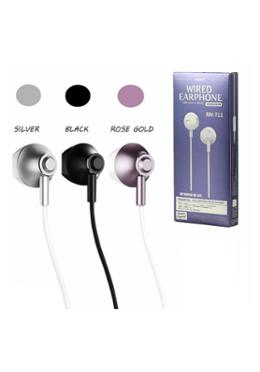 Remax RM-711 Wired In-Ear Earphone