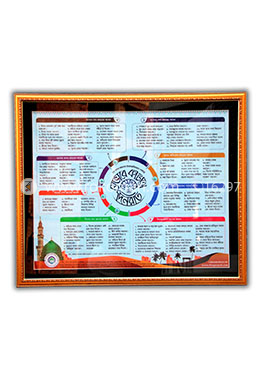 Rasuler 24 Ghonta Amoler Infographical poster with free two books!
