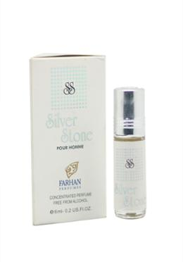 Farhan Silver Stone Concentrated Perfume -6ml (Men)