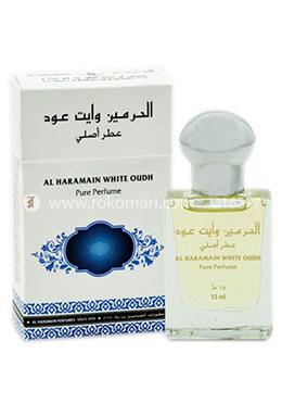Al Haramain White Oud Attar -15ml (Pure Perfume)
