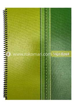 Students Notebook (Green And Yellow Mixed Color)