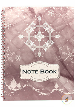 Seminar Note Book Plum Color (JCSM06) - 01 Pcs