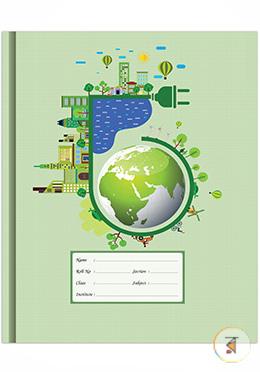Floral Binding Khata -200 Page (Globe Design)