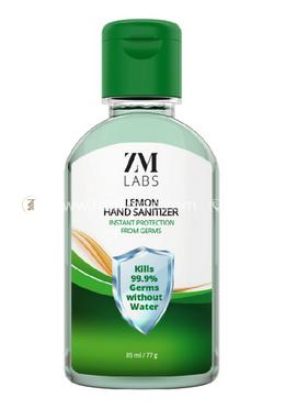 ZM LABS  Lemon Hand Sanitizer Gel - 100 ml