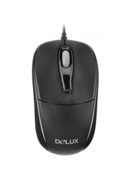 Delux Optical Mouse-DLM-105BU