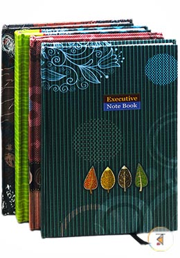 Top Executive Notebook 200 Page - 01 Pcs (Any Style and Color)
