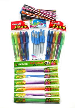 Pen Combo Package Yearly for Student-01 (Total-62 Pen)