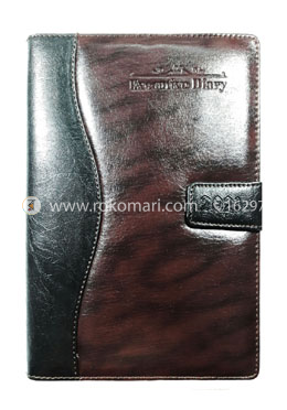 Heart's Executive DIARY - 2021 (Black and Choclate Color)