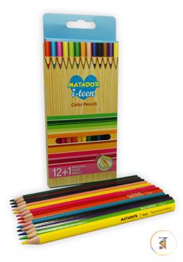 Matador i-teen Color Pencil - Full Size (13 Color)