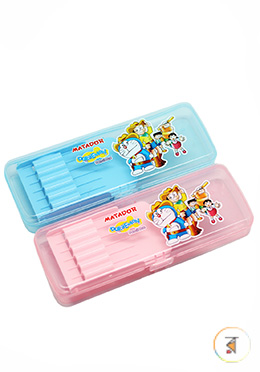 Matador Doraemon Pencil Case - 01 Pcs (Any Color)
