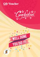 Congratulations Gift Voucher