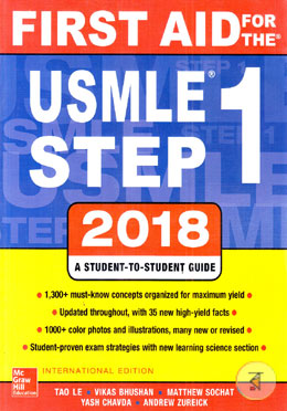 First Aid for the USMLE Step 1 (2018-2019) Session - Yash Chavda