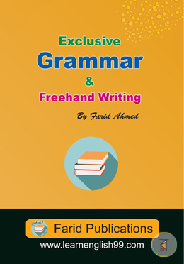 Exclusive Grammar And Freehand Writing (Bangla-English)