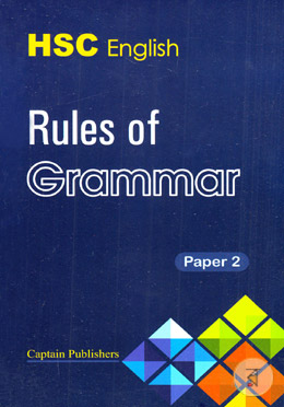 HSC English Rules Of Grammar 2nd Paper (2018 - 2019) - Dr  Ruhul Amin