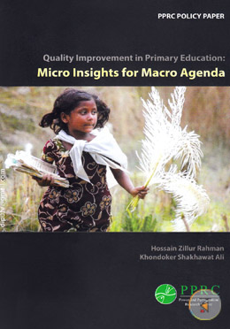 Quality Improvement in Primary Education : Micro Insights for Macro Agenda