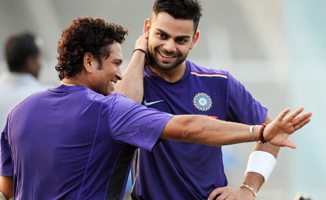 Sachin Tendulkar wishes Virat Kohli on Twitter for 34th ODI century in 3rd ODI between India South Africa