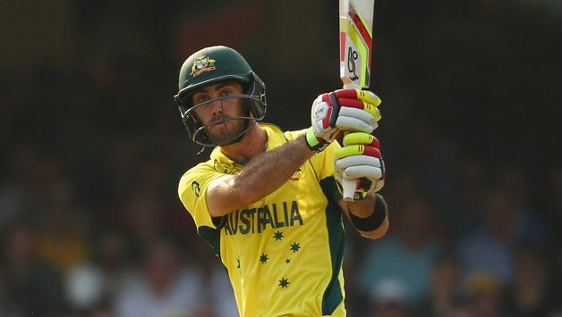 Maxwell replaces Aaron Finch