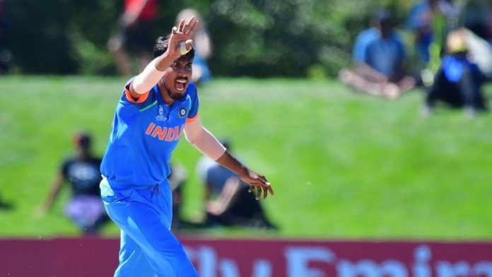 Ishan Porel India U19 World Cup final injured foot